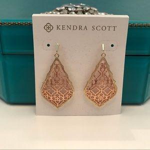 Kendra Scott Addie Gold Drop Earrings